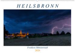 Heilsbronn – Frankens Münsterstadt (Wandkalender 2020 DIN A2 quer) von Endres Fotodesign,  Harald
