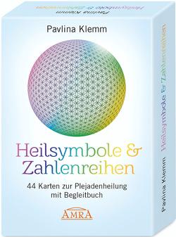Heilsymbole & Zahlenreihen: 44 Karten zur Plejadenheilung mit Begleitbuch von Klemm,  Pavlina
