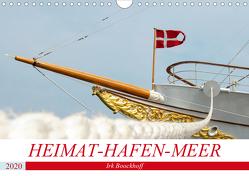 Heimat-Hafen-Meer (Wandkalender 2020 DIN A4 quer) von Boockhoff,  Irk