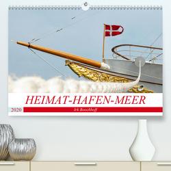 Heimat-Hafen-Meer (Premium, hochwertiger DIN A2 Wandkalender 2020, Kunstdruck in Hochglanz) von Boockhoff,  Irk