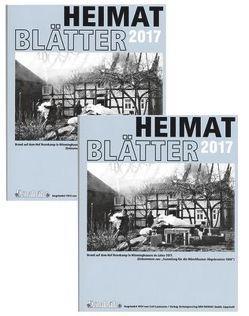 Heimatblätter 2017 von Fennenkötter,  Hans-Christoph, Laumanns,  Dr. Reinhard
