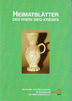 Heimatblätter des Rhein-Sieg-Kreises von Arndt,  Claudia Maria, Forsbach,  Ralf, Korte-Böger,  Andrea (Herausgeber)