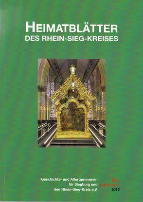 Heimatblätter des Rhein-Sieg-Kreises von Arndt,  Claudia Maria, Forsbach,  Ralf, Korte-Böger,  Andrea