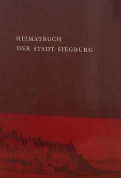 Heimatbuch der Stadt Siegburg von Stadt Siegburg