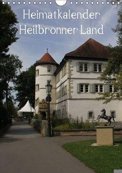 Heimatkalender Heilbronner Land (Wandkalender 2018 DIN A4 hoch) von HM-Fotodesign,  k.A.
