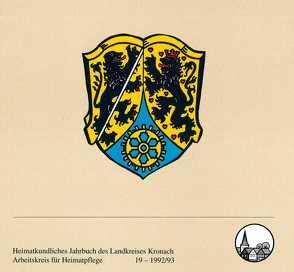 Heimatkundliches Jahrbuch des Landkreises Kronach von Dinkel,  G, Förtsch,  G, Graf,  Robert, Graf,  Roland, Jauernig-Hofmann,  B, Lauf,  D, Pfadenhauer,  R, Schnappauf,  Werner, Schwarz,  H.