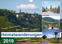 Heimatwanderungen 2019 (Wandkalender 2019 DIN A4 quer) von Müller,  Gerdhold