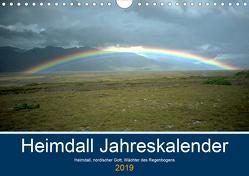 Heimdall Jahreskalender 2019 (Wandkalender 2019 DIN A4 quer) von Gielisch,  Uwe