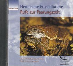 Heimische Froschlurche – Stimmen zur Paarungszeit von Alscher,  Gerhard, Baier,  Reinhard, Tetzlaff,  Immo
