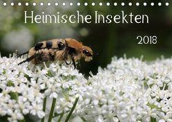 Heimische Insekten 2018 (Tischkalender 2018 DIN A5 quer) von Hahnefeld,  Silvia