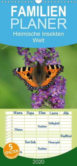 Heimische Insekten Welten – Familienplaner hoch (Wandkalender 2020 , 21 cm x 45 cm, hoch) von kattobello