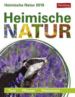 Heimische Natur – Kalender 2019 von Harenberg, Lingenhöhl,  Daniel, Lotz,  Brigitte, Schnober-Sen,  Martina, Trösch,  Thomas