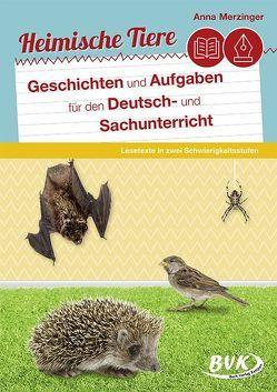 Heimische Tiere von Merzinger,  Anna