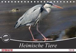 Heimische Tiere (Tischkalender 2018 DIN A5 quer) von SchnelleWelten,  k.A.