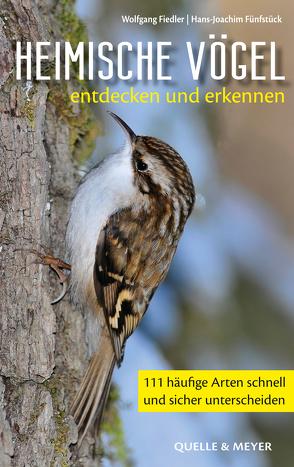 Heimische Vögel entdecken und erkennen von Fiedler,  Wolfgang, Fünfstück,  Hans-Joachim