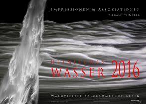 Heimisches Wasser 2016 von Winkler,  Gerald