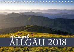 Heimweh Allgäu 2018 (Tischkalender 2018 DIN A5 quer) von Wandel,  Juliane