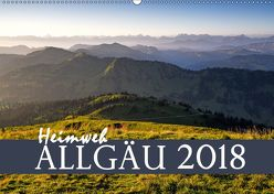 Heimweh Allgäu 2018 (Wandkalender 2018 DIN A2 quer) von Wandel,  Juliane