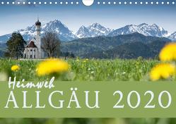 Heimweh Allgäu 2019 (Wandkalender 2019 DIN A4 quer) von Wandel,  Juliane