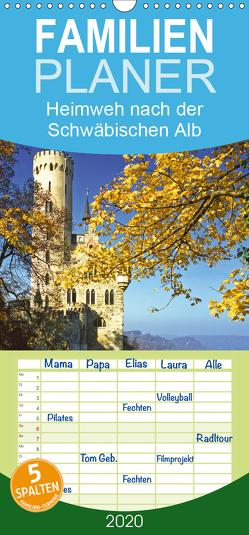 Heimweh nach der Schwäbischen Alb – Familienplaner hoch (Wandkalender 2020 , 21 cm x 45 cm, hoch) von CALVENDO