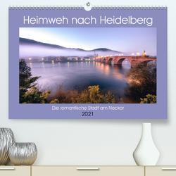 Heimweh nach Heidelberg – Die romantische Stadt am Neckar (Premium, hochwertiger DIN A2 Wandkalender 2021, Kunstdruck in Hochglanz) von Assfalg,  Thorsten