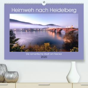 Heimweh nach Heidelberg – Die romantische Stadt am Neckar (Premium, hochwertiger DIN A2 Wandkalender 2020, Kunstdruck in Hochglanz) von Assfalg,  Thorsten
