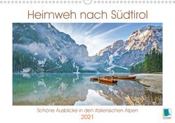 Heimweh nach Südtirol: Trentino, Dolomiten und Sassolungo (Wandkalender 2021 DIN A3 quer) von CALVENDO