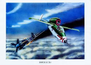 """Heinkel He 162"" – Wandbild"