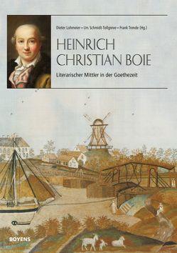 Heinrich Christian Boie von Lohmeier,  Dieter, Schmidt-Tollgreve,  Urs, Trende,  Frank