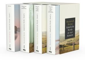 Heinrich Heine. Sämtliche Werke in vier Bänden von Heine,  Heinrich
