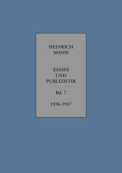 Heinrich Mann von Klein,  Wolfgang, Mann,  Heinrich