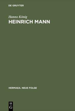 Heinrich Mann von König,  Hanno