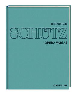 Heinrich Schütz: Opera varia I von Lauterwasser,  Helmut