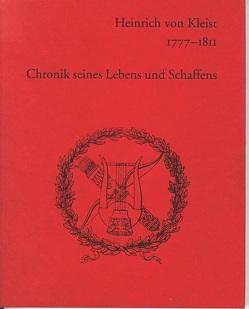 Heinrich von Kleist 1777-1811 von Barthel,  Wolfgang