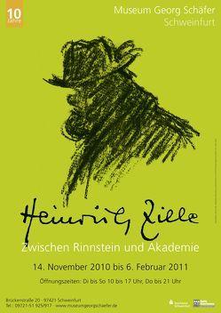 Heinrich Zille (1858 – 1929) von Bertuleit,  Sigrid, Rhein,  Karin