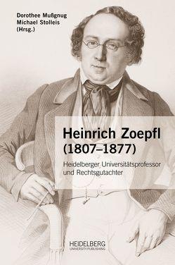 Heinrich Zoepfl (1807–1877) von Mussgnug,  Dorothee, Stolleis,  Michael