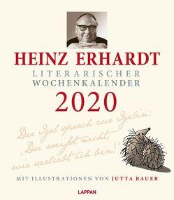 Heinz Erhardt – Literarischer Wochenkalender 2020 von Bauer,  Jutta, Erhardt,  Heinz