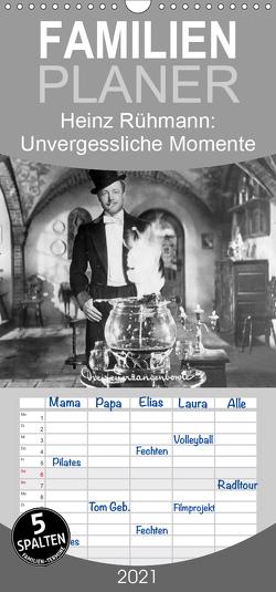Heinz Rühmann: Unvergessliche Momente aus seinen besten Filmen – Familienplaner hoch (Wandkalender 2021 , 21 cm x 45 cm, hoch) von CALVENDO