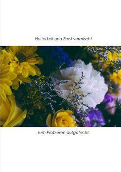 Heiterkeit und Ernst vermischt, zum Probieren aufgetischt. von Giefers,  Hildegard