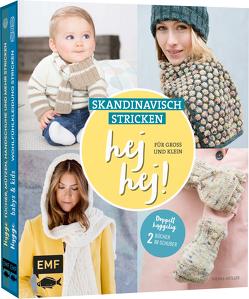 hej hej! Skandinavisch stricken für Groß und Klein von Müller,  Wenke