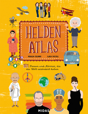Helden-Atlas von Colombo,  Miralda, Faccioli,  Ilaria