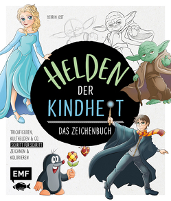 Helden der Kindheit – Das Zeichenbuch von Jost,  Berrin