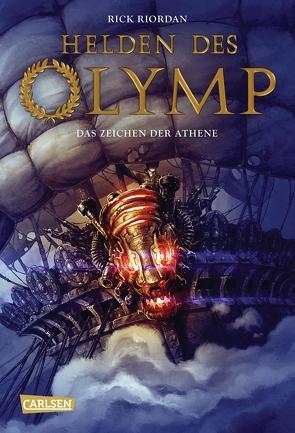 Helden des Olymp 3: Das Zeichen der Athene von Haefs,  Gabriele, Riordan,  Rick