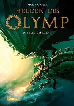 Helden des Olymp 5: Das Blut des Olymp von Haefs,  Gabriele, Riordan,  Rick
