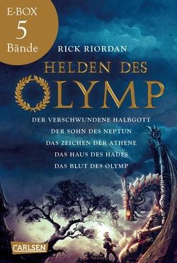 Helden des Olymp: Alle fünf Bände der Bestseller-Serie in einer E-Box! von Haefs,  Gabriele, Riordan,  Rick