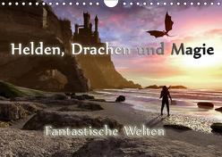 Helden, Drachen und Magie (Wandkalender 2019 DIN A4 quer) von Schröder,  Karsten