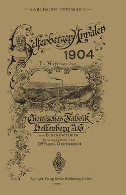 Helfenberger Annalen 1904 von Dieterich,  Eugen