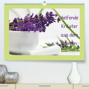 Helfende Kräuter aus dem Garten Schweizer KalendariumCH-Version (Premium, hochwertiger DIN A2 Wandkalender 2021, Kunstdruck in Hochglanz) von Design Fotografie by Tanja Riedel,  Avianaarts