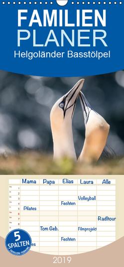 Helgoländer Basstölpel – Familienplaner hoch (Wandkalender 2019 , 21 cm x 45 cm, hoch) von Mirsberger,  Annett