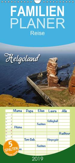 Helgoland – Familienplaner hoch (Wandkalender 2019 , 21 cm x 45 cm, hoch) von Berg,  Martina